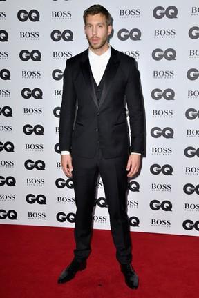 Calvin Harris em premiação em Londres, na Inglaterra (Foto: Gareth Cattermole/ Getty Images)