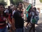 Marcelo Freixo encerra campanha com eleitores no Maracanã