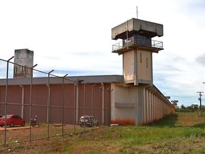 Penitenciária Major Eldo Sá Corrêa, a Mata Grande, tem problema de superlotação (Foto: Reprodução/ TVCA)