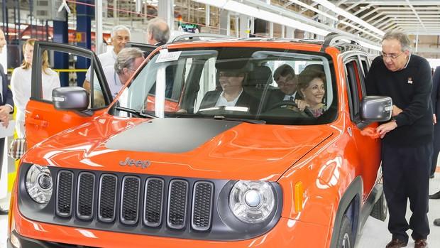 FOTOS: fábrica da Jeep em Goiana, PE