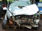 Pai e filha morrem após colisão entre caminhonete e carreta na BR-153