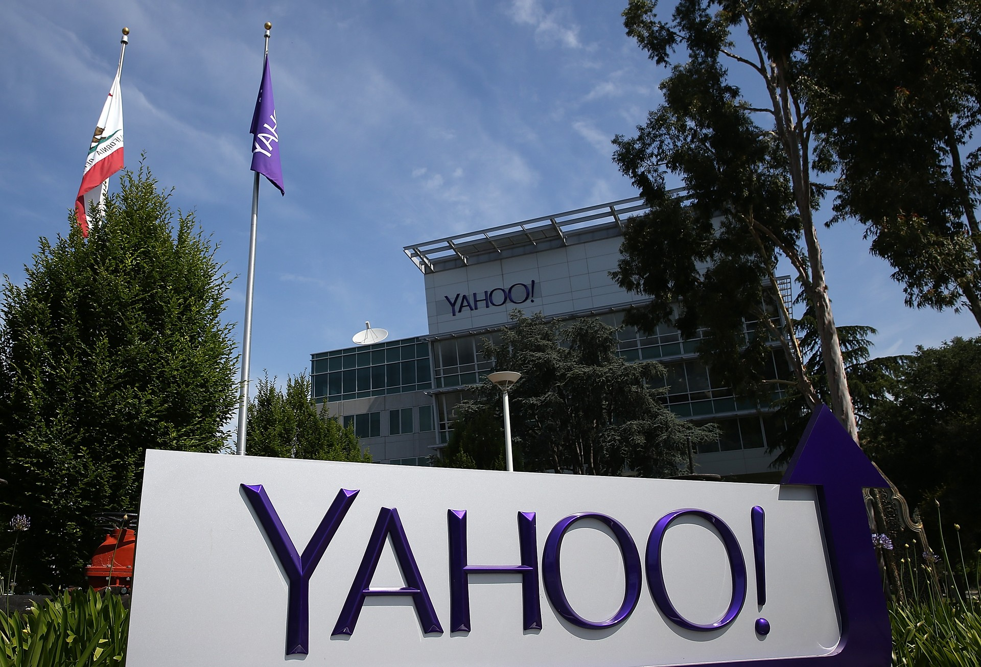 Sede do Yahoo em Sunnyvale, na Califórnia (Foto: Getty)
