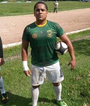 Dângelo da Costa, jogador acreano de Rugby (Foto: Dângelo da Costa/ Arquivo Pessoal)