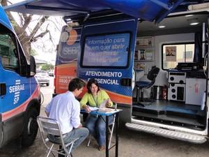 Sebrae Móvel fará atendimento em Valinhos (SP) (Foto: Miriam Bizarro)
