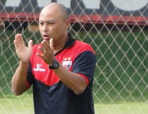 Eduardo Luís da Silva, Dudu, preparador físico do Atlético-GO (Foto: Divulgação / Site Oficial do Atlético-GO)