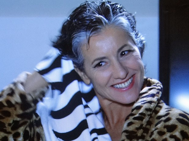 Melissa faz pouco caso de Dimas (Foto: Amor Eterno Amor/TV Globo)