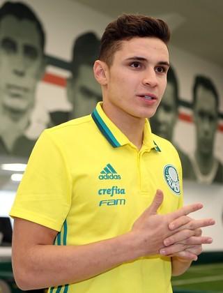 Raphael Veiga Palmeiras (Foto: Fabio Menotti/Ag.Palmeiras/Divulgação)