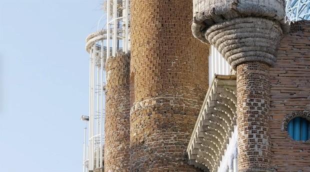 Construção de Justo Gallego (Foto: Reprodução/Great Big Story)