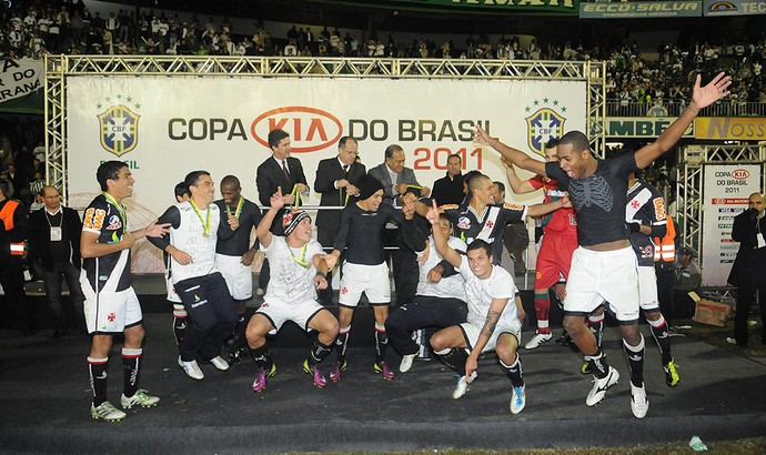 coritiba x vasco comemoração (Foto: André Durão/Globoesporte.com)