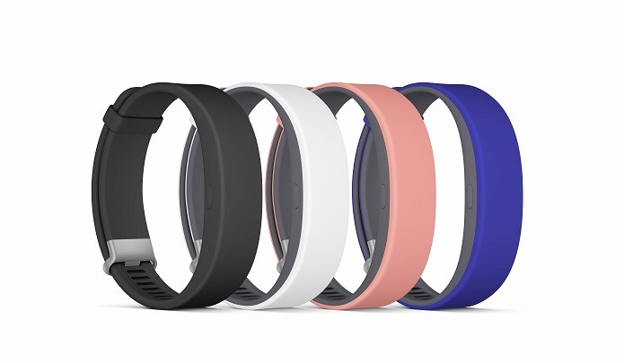 Nova pulseira está disponível em quatro cores (Foto: Divulgação/Sony)