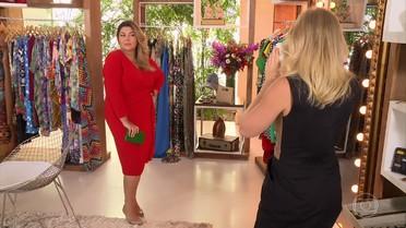Fabiana Karla abre seu guarda-roupa