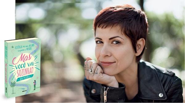 """Gaía Passarelli, autora de """"Mas Você Vai Sozinha?"""" (Foto: Divulgação)"""
