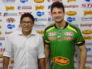 Michael, Novorizontino (Foto: Jonatan Dutra/Grêmio Novorizontino)