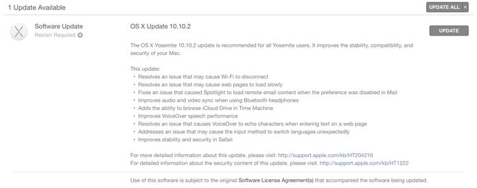 Nova versão do sistema operacional já está disponível para download (foto: Reprodução/Apple)