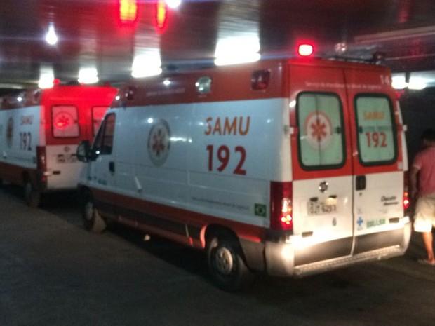Menino foi levado para o Hospital Walfredo Gurgel (Foto: Kléber Teixeira/Inter TV Cabugi)