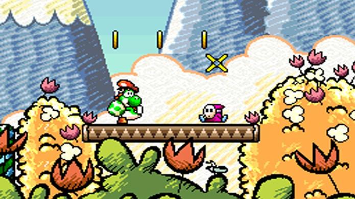 Super Mario World 2: Yoshis Island levou a franquia em uma direção diferente no Super Nintendo e atingiu o ápice do gênero plataforma (Foto: Reprodução/Vivaldi Blog)