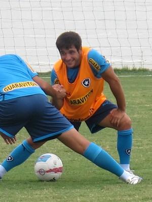 Lodeiro treino Botafogo (Foto: Thales Soares / Globoesporte.com)