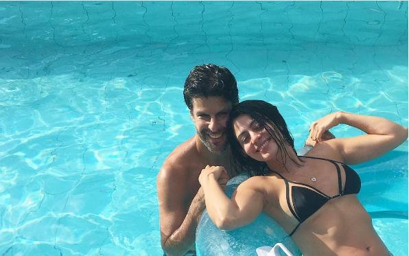Carol Castro e namorado (Foto: Reprodução/Instagram)