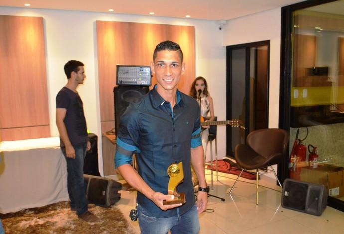 Eduardo, atacante do Atlético-AC (Foto: Duaine Rodrigues)