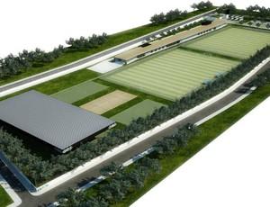 grêmio ct arena centro de treinamentos projeto (Foto: Divulgação/Grêmio)