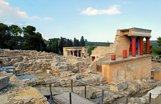 Cnossos (Foto: Reprodução/Arquiteto fala)