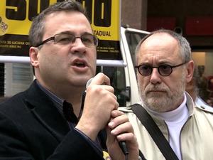 Agenda dos candidatos - Roberto Robaina - PSOL (Foto: Reprodução/RBS TV)