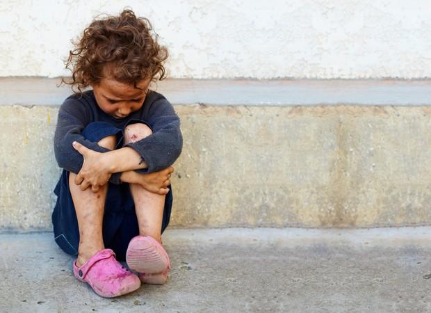 criança pobreza (Foto: Thinkstock)