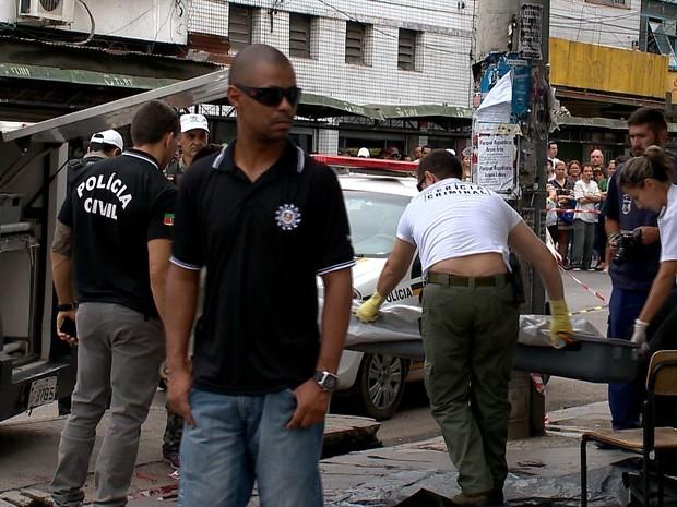 mulher assassinada pelotas rs (Foto: Reprodução/RBS TV)