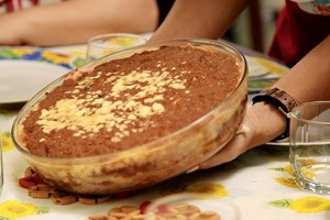 Lasanha vegetariana de berinjela, abobrinha e cenoura (Foto: Reproduo GNT)
