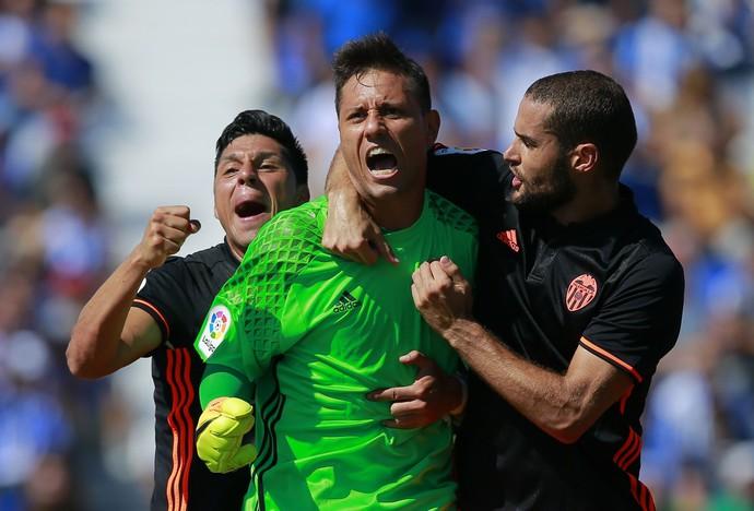 Diego Alves pênalti Valencia Leganés (Foto: Getty Images)