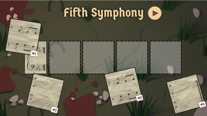 Beethoven é homenageado pelo Google com Doodle e jogo musical (Foto: Reprodução/Google)