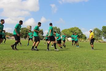 Castanhal, treino (Foto: Ascom Castanhal)