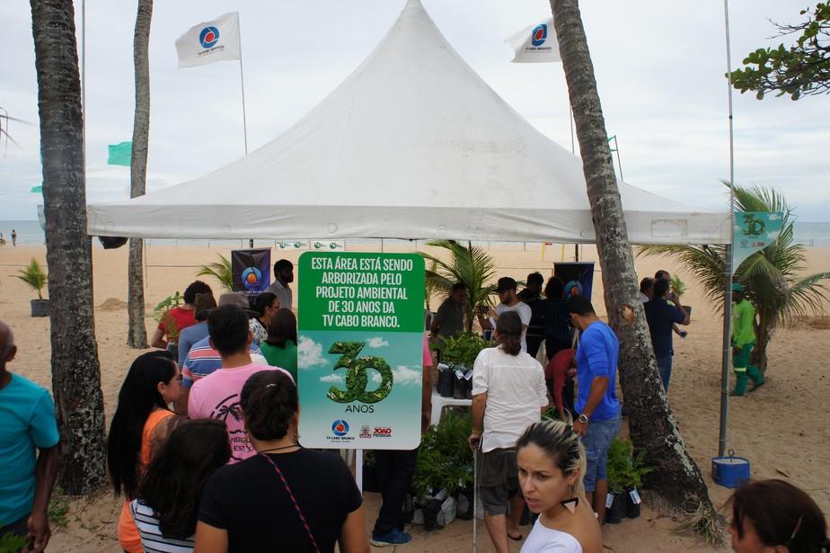 TVs Cabo Branco e Paraíba iniciam projeto que plantará 60 mil mudas