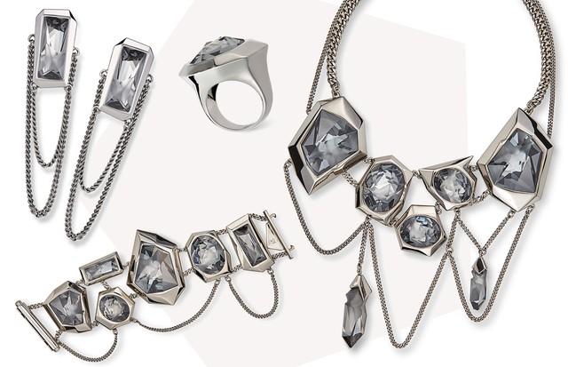 d56050197426e Jean Paul Gaultier para o Atelier Swarovski (Foto  Arte Vogue Online)