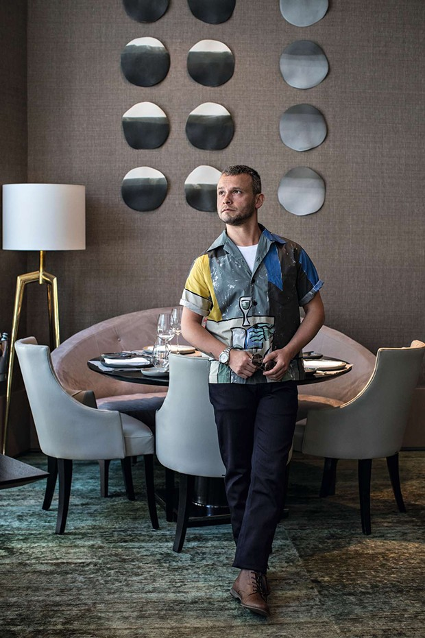 Chef (Foto: Deco Cury Styling Gabriel Feriani e  Matheus Pallos)