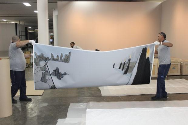 Transporte de luxo para obras de arte (Foto: Divulgação)