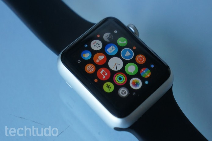 O design do Apple Watch é elegante e moderno (Foto: Bernardo Dabul/TechTudo)