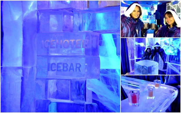 Ice bar em  (Foto: Arquivo Pessoal)