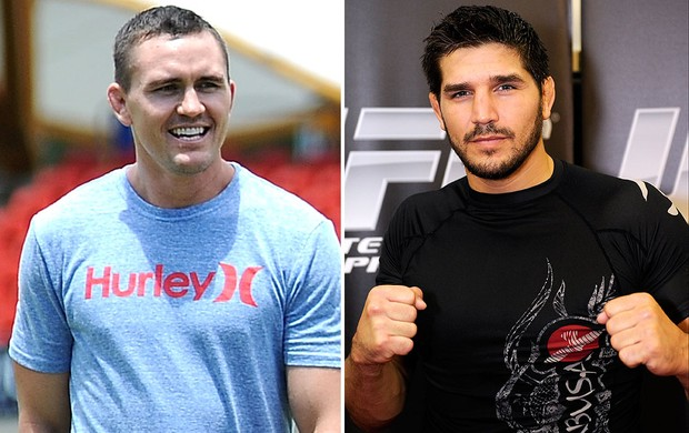 montagem UFC Kyle Noke x Patrick Cote  (Foto: Editoria de Arte / Globoesporte.com)