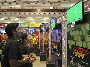 Jogos PES, Fifa 15 e Naruto fazem parte de disputas (Foto: Ive Rylo/G1 AM)