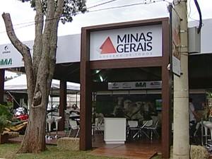 gabinete secretaria de agricultura e pecuária Minas Gerais Expozebu Uberaba (Foto: Reprodução/ TV Integração)