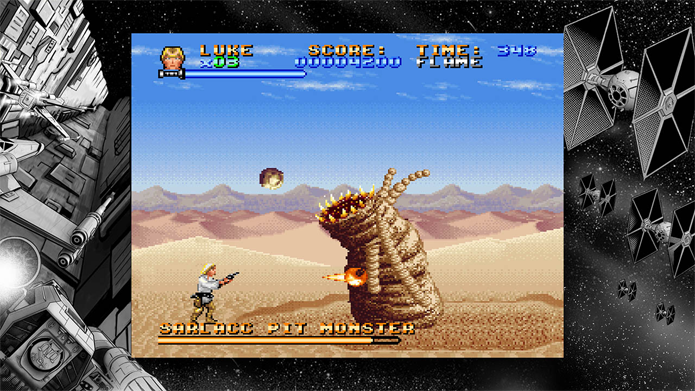 Super Star Wars é um elogiado game do SNES disponível nos consoles da Sony (Foto: Divulgação/Disney)