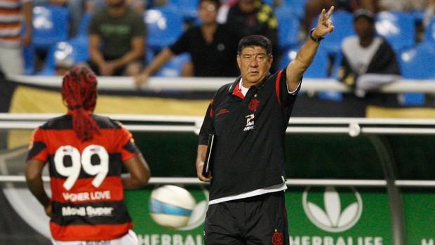 Joel Santana Vagner Love Flamengo x vasco (Foto: André Portugal / VIPCOMM)