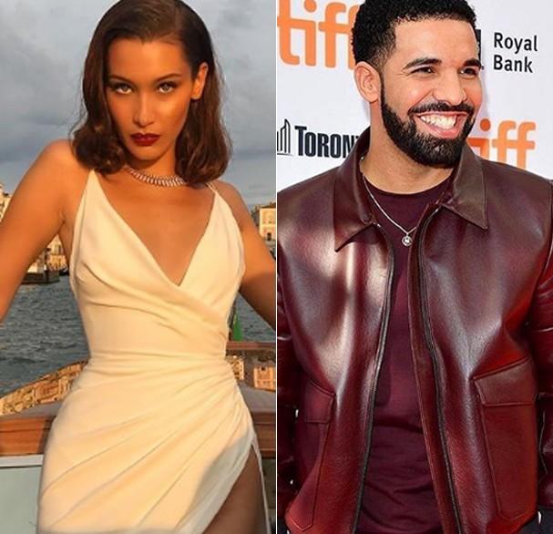 Bella Hadid e Drake estariam namorando, segundo revista (Foto: Reprodução/Instagram)