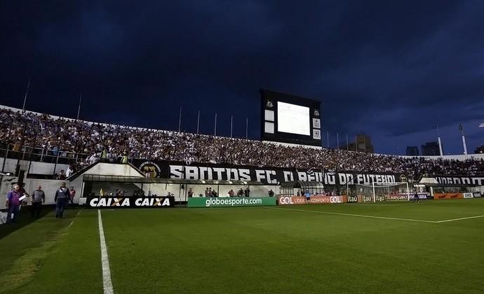 Vila Belmiro (Foto: Ivan Storti/Divulgação SFC)