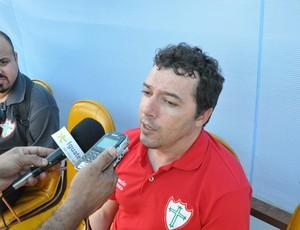 Alexandre Faganello fala sobre vitória da Portuguesa sobre o Corinthians no Morenão (Foto: Hélder Rafael)