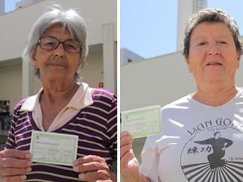 No Dia do Idoso, eleitores com mais de 70 falam da importância do voto (Foto: Carlos Santos/G1)
