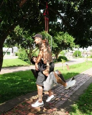 suspensão (Foto: Duaine Rodrigues /G1)