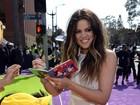 Kim Kardashian e a filha estão bem, diz irmã da socialite no Twitter
