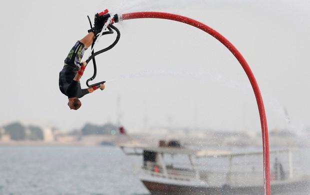 Lindsay McQueen Flyboard (Foto: Reuters)